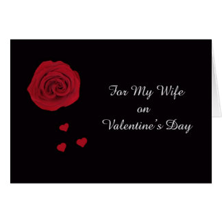 Valentine Card for Wife