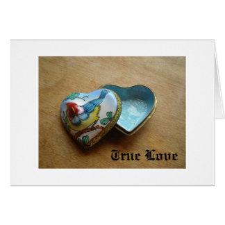 Valentine Card - True Love Heart