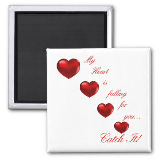 """Valentine """"Catch My Heart"""" Product Line Magnet"""