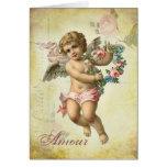 Valentine Cherub - Amour Card