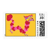 Valentine Chinese New Year Stamp
