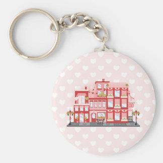 Valentine City Keychain
