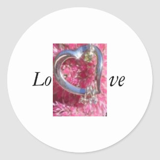 Valentine Classic Round Sticker