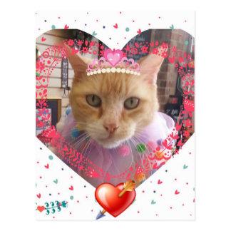 Valentine Claude Postcard