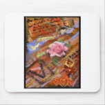 Valentine Collage Mouse Mat