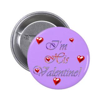 VALENTINE Collection Pinback Button