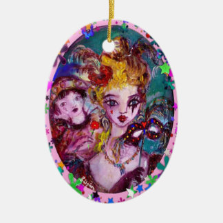 VALENTINE / Colorful Heart Christmas Tree Ornament