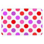 Valentine Colors Polka Dots Magnets