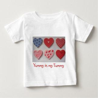 Valentine Cookie Hearts T Shirt