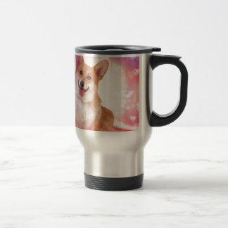 Valentine Corgi Coffee Mugs