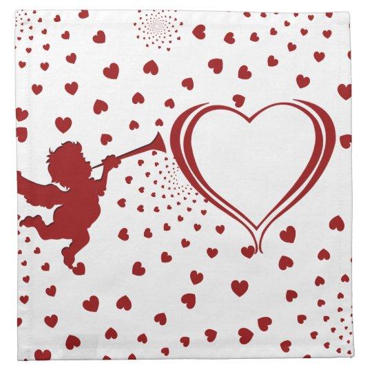Valentine Cotton Napkin