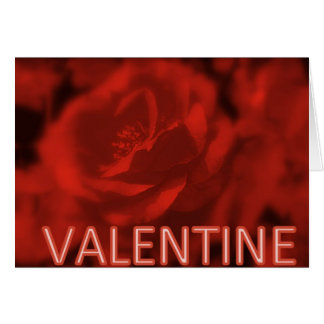 VALENTINE CREATIONS - RED ROSE GREETING CARDS
