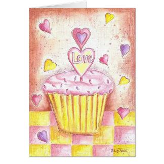 Valentine Cupcake Card