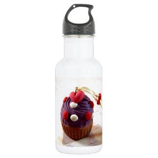Valentine Cupcake Stainless Steel Water Bottle