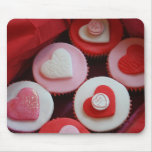 Valentine Cupcakes Mouse Pad