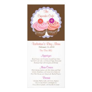 Valentine Cupcakes Rack Card