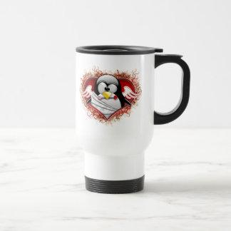 Valentine Cupid Tux Coffee Mugs
