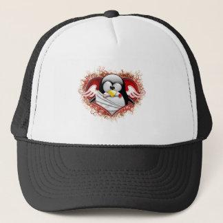 Valentine Cupid Tux Trucker Hat