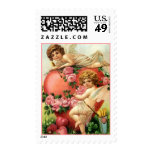 VALENTINE CUPIDS ANGELS VICTORIAN STYLE STAMPS! POSTAGE STAMPS