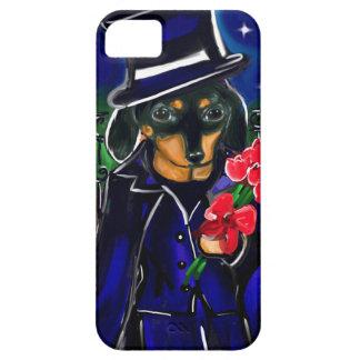 VALENTINE DACHSHUND iPhone SE/5/5s CASE