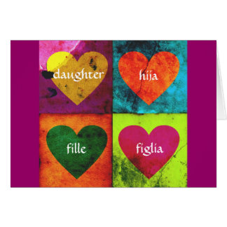 Valentine Daughter Greeting Card