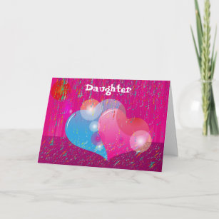 Valentine for daughter cards zazzle valentine daughter greeting card m4hsunfo
