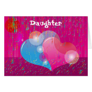 Valentine Daughter Greeting Card