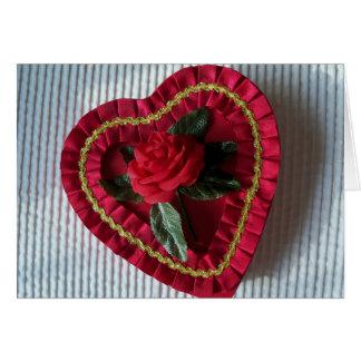 Valentine Day Heart Valentines Greeting Card