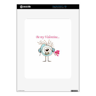 Valentine Day Poster iPad Skins