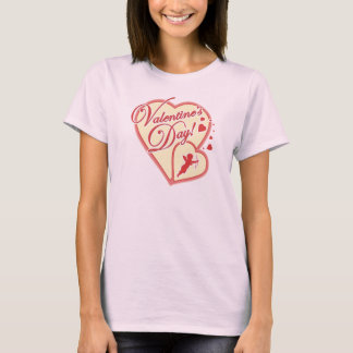 Valentine Day with Cupid T-Shirt