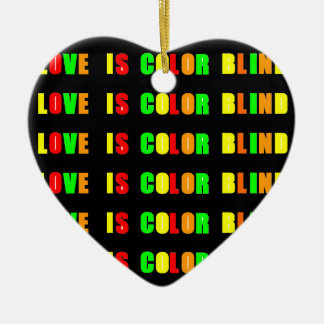 Valentine Decorations Heart Ornament_CB Love Quote Double-Sided Heart Ceramic Christmas Ornament