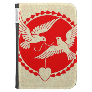 VALENTINE DOVE CASES FOR THE KINDLE