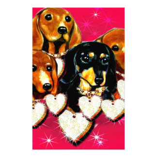 VALENTINE DOXIES STATIONERY PAPER