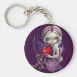 """""""Valentine Dragon"""" Keychain"""
