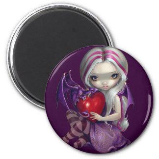 """Valentine Dragon"" Magnet"