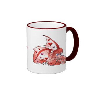 Valentine Dragon Mug