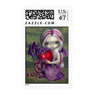 """Valentine Dragon"" Stamp"
