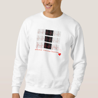 Valentine EKG Sweatshirt