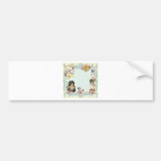 Valentine Ephemera Love Letters Car Bumper Sticker
