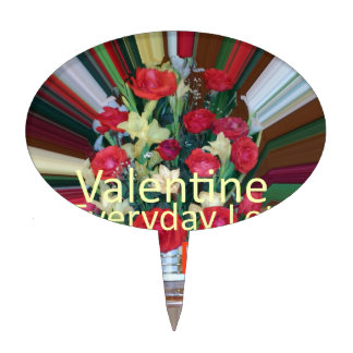 Valentine Everyday Share the Love Cake Topper
