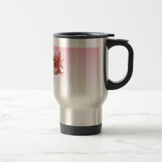Valentine Fairy and frosted pink hearts - 2 Travel Mug