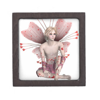 Valentine Fairy Boy Jewelry Box