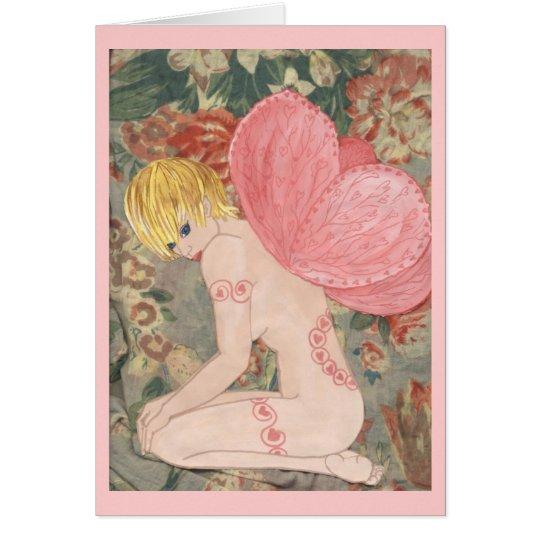 Valentine Fairy Card
