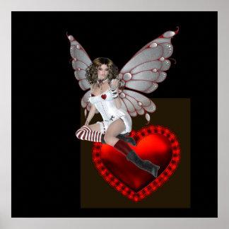 Valentine Fairy Poster