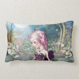 Valentine Fairy Throw Pillow