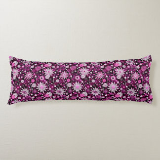 Valentine Floral Pattern Body Pillow