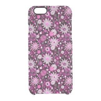 Valentine Floral Pattern Clear iPhone 6/6S Case