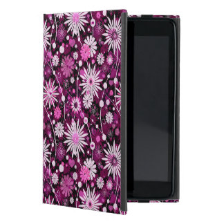 Valentine Floral Pattern Cover For iPad Mini