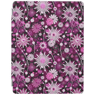Valentine Floral Pattern iPad Smart Cover