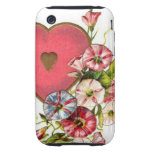 Valentine Flowers Tough iPhone 3 Case